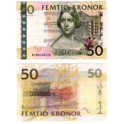 (64b) Suecia. 2008. 50 Kronor (SC)