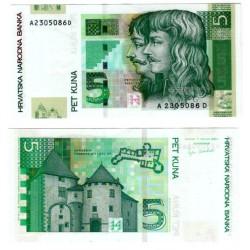 (37a) Croacia. 2001. 5 Kuna (SC)