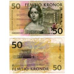 (62a) Suecia. 2002. 50 Kronor (MBC)
