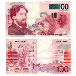 (147) Bélgica. 1995. 100 Francs (MBC)