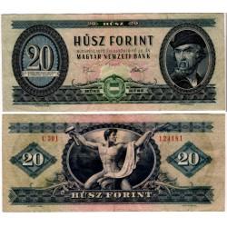 (169f) Hungria. 1975. 20 Forint (MBC)