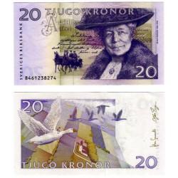 (63a) Suecia. 1998. 20 Kronor (SC)