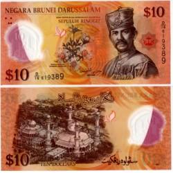(37) Brunei. 2011. 10 Ringgit (SC)