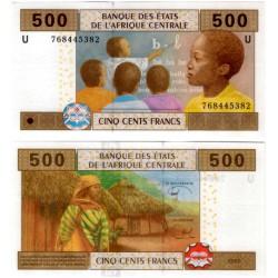 (206Ue) Estados África Central. 2002. 500 Francs (SC) Camerún