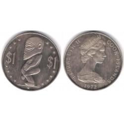 (7) Islas Cook. 1972. 1 Dollar (SC)