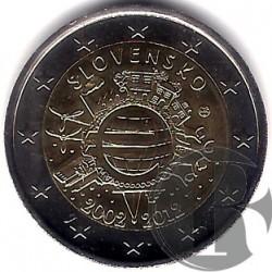 Eslovaquia 2012 2 Euro (SC)