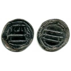 Califato Abasida. 187H. Dirham (MBC) (Plata) Ceca de Bagdad