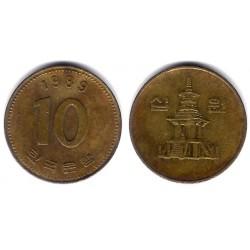 (33.1) Core del Sur. 1989. 10 Won (BC)