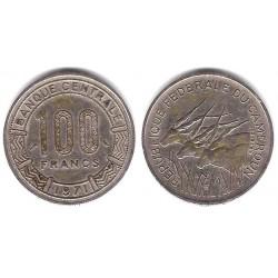 (15) Camerún. 1971. 100 Francs (MBC)
