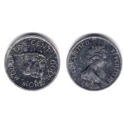 (17) Seychelles. 1972. 1 Cent (EBC)