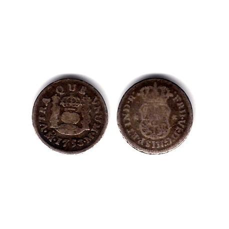 Fernando VI. 1753. ½ Real (BC) (Plata) Ceca de Mejico