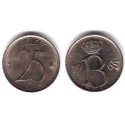 (153.1) Bélgica. 1965. 25 Centimes (MBC)