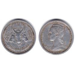 (39 Madagascar. 1948. 1 Franc (MBC)