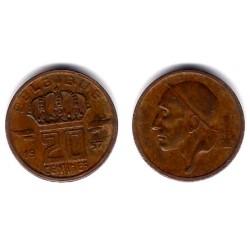 (146) Bélgica. 1957. 20 Centimes (MBC)