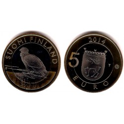Finlandia. 2014. 5 Euro (SC)
