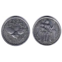 (10) Nueva Caledonia. 1994. 1 Franc (SC)