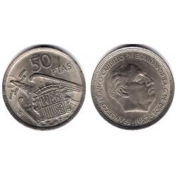 Estado Español. 1957*(59). 50 Pesetas (EBC+)