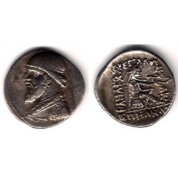Imperio Parto (Mithradates II). 123-88aC. Dracma (EBC) (Plata)