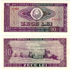 (95a) Rumania. 1966. 10 Lei (SC-)
