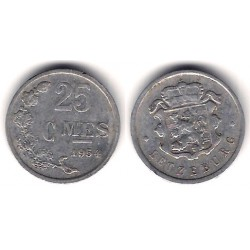 (45a.1) Luxemburgo. 1954. 25 Centimes (BC)