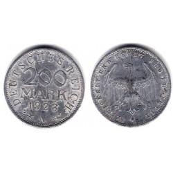 (35) Imperio Alemán (Weimar). 1923(A). 200 Mark (MBC)
