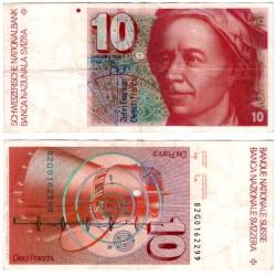 (53d) Suiza. 1982. 10 Francs (MBC)