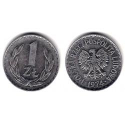 (Y49.1) Polonia. 1974. 1 Zloty (MBC)