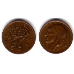 (147.1) Bélgica. 1954. 20 Centimes (EBC)