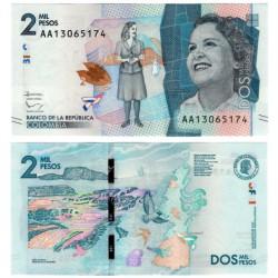 (458a) Colombia. 2015. 2000 Pesos (SC)