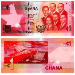 (37f) Ghana. 2015. 1 Cedi (SC)