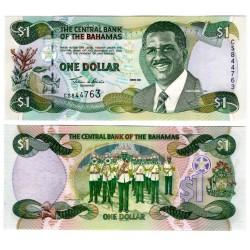 (69) Bahamas. 2001. 1 Dollar (SC)