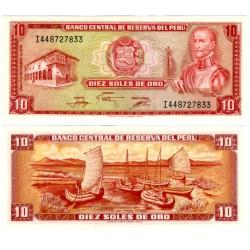 (112) Perú. 1976. 10 Soles (SC)