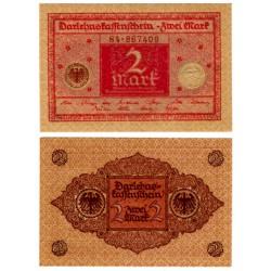 (59) Imperio Alemán (Weimar). 1920. 2 Mark (SC)