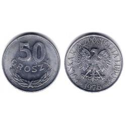 (Y48.1) Polonia. 1976. 50 Groszy (EBC)