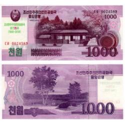 Corea del Norte. 2018. 1000 Won (SC)