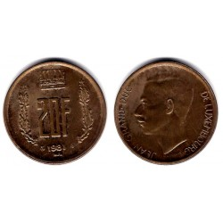 (58) Luxemburgo. 1981. 20 Francs (MBC+)