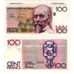(142) Bélgica. 1982-94. 100 Francs (EBC+)