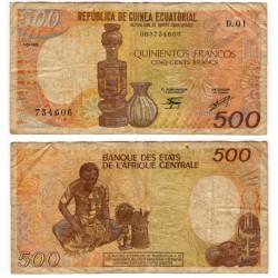 (20) Guinea Ecuatorial. 1985. 500 Francs (RC+)