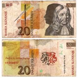 (12a) Eslovenia. 1992. 20 Tolarjev (BC)