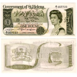(9a) Santa Elena. 1981. 1 Pound (SC)
