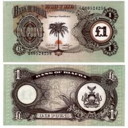 (5a) Biafra. 1969. 1 Pound (SC)