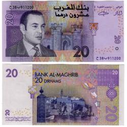 (68) Marruecos. 2005. 20 Dirham (SC)