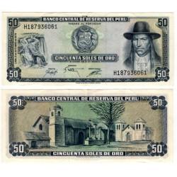 (107) Perú. 1975. 50 Soles de Oro (EBC)