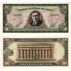 (140b) Chile. 1962-75. 50 Escudos (SC)