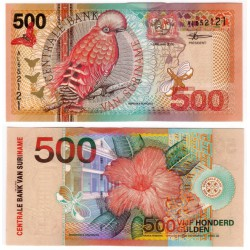 (150) Surinam. 2000. 500 Gulden (SC)