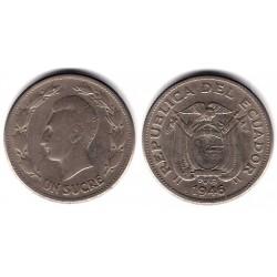 (78.2) Ecuador. 1946. 1 Sucre (BC)