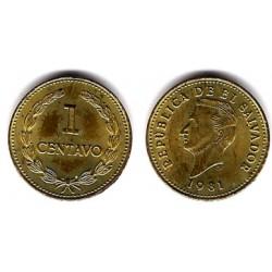 (135.2a) El Salvador. 1981. 1 Centavo (SC)