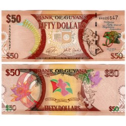 (41) Guyana. 2016. 50 Dollars (SC)