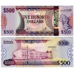 (37) Guyana. 2011. 500 Dollars (SC)