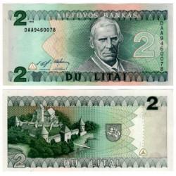 (54) Lituania. 1993. 2 Litai (SC)